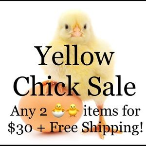 🐥See a 🐥 in the listing, 🐥bundle two for $30!🐥
